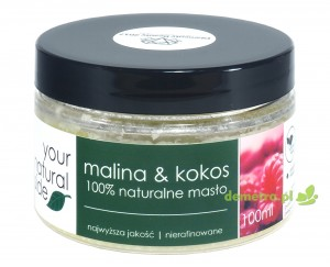 Masło malina & kokos 100ml. Your Natural Side