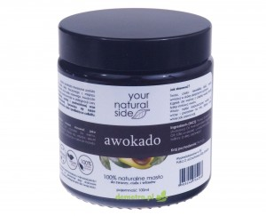 Masło avokado 100ml.  Your Natural Side