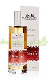 Woda toaletowa Patchouly 100ml. Le Chatelard