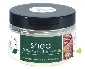 Masło shea nierafinowane organic 100ml. Your Natural Side