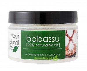 Olej babassu organic 100ml Your Natural Side