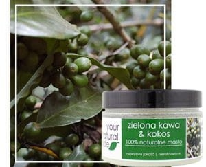 Masło zielona kawa & kokos  100ml. Your Natural Side