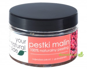 Peeling z pestek malin gruboziarnisty 100ml. Your Natural Side