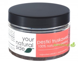 Peeling z pestek truskawek drobnoziarnisty 100ml. Your Natural SIde