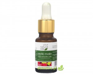 Olej z pestek malin nierafinowany 10ml. pipeta Your Natural Side