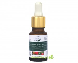 Olej z pestek granatu nierafinowany organic pipeta 10ml. Your Natural Side